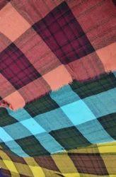 Melange Checks Fabric, Use: Garments
