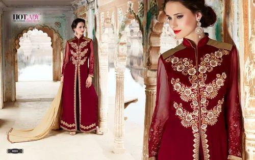22f423810c Designer Anarkali Suits - Designer Heavy Embroidery Suit ...