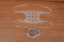 Ventilator CPAP Mask with Silicone Head Harness ( NIV )