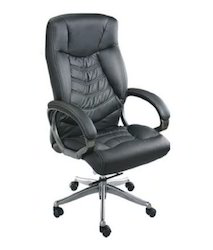 Leatherette High Back Director Chair