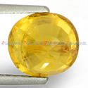 2.46 Carats Yellow Sapphire