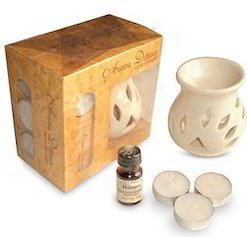 Gift Set Diffuser with 3 Tealights