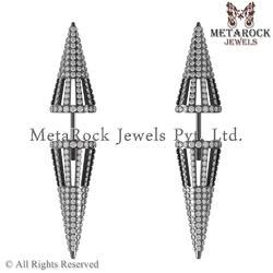 925 Sterling Silver Gauge Earrings Jewelry