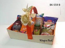 Wooden Gift Baskets
