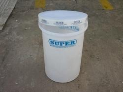 White Polyethylene Drums