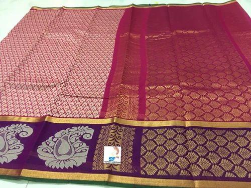 a8c7525c5385f9 Wedding Wear All Kuppadam Silk Cotton Sarees, Rs 999 /piece   ID ...
