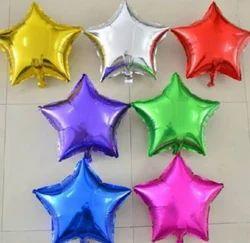 Star Shaped Foil Balloon