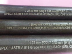 Round AISI 4130 Pipe