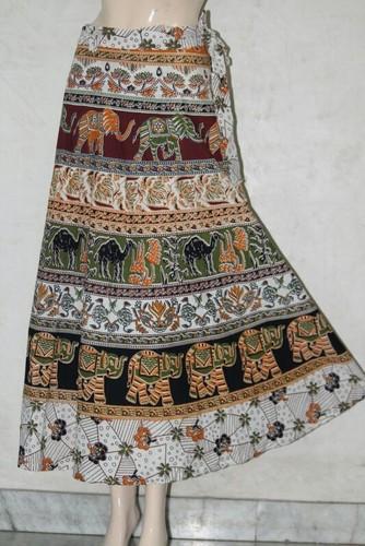 4b725dc103 Ladies Wrap Around Skirts - Women Cotton Wrap Skirt Manufacturer from Jaipur