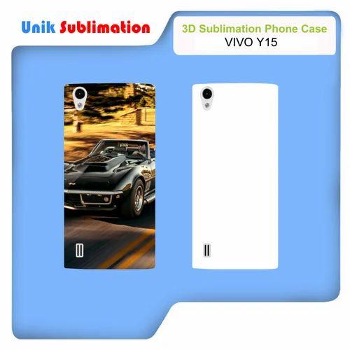 newest a2c92 cb17b 3d Sublimation Mobile Cover For Vivo Y15