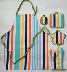 Assorted Striped Kitchen Linens