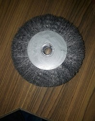 ss circular wire buffing brush