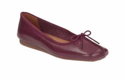 Freckle Ice Plum Leather Women Shoe