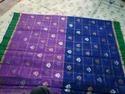 Kota Doria Pure Zari Handloom Saree With Blouse Piece, Saree Length: 6.3 M