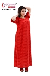 Cotton Nightgown - Ladies Cotton Nighty Latest Price f42d75b06