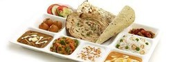 Indian Birthday Party Lunch Pack, in indre