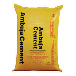Grade: General High Grade Ambuja Cement, 50 kg
