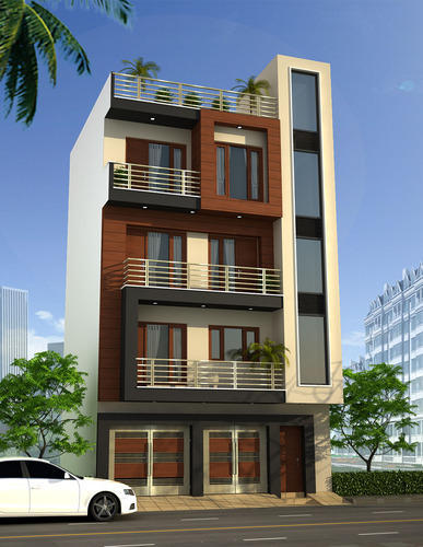 Residential Building Designing Services In Delhi, Design