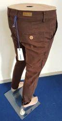 Mens Cotton Trouser, Size: S-XL
