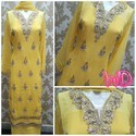 Stiched Yellow Suit