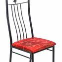 WI Leaf Metal Dining Chair
