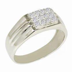 SHRI0595 925 Silver Designer Gents Ring