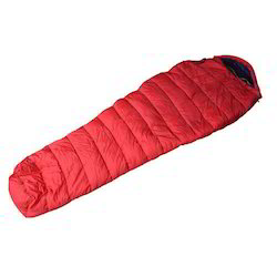 detachable inner red sleeping bag
