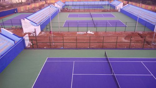 Tennis Court Synthetic Flooring Surface In Karnataka Bank Bengaluru