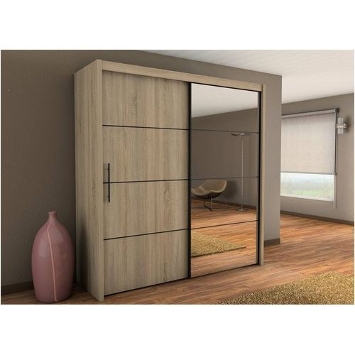 Bedroom Cupboard Designs India Art Hoe Bedroom Bedroom Black And White Cartoon Curtains For Small Bedroom Windows: Sliding Door Designer Wardrobe, ���्लाइडिंग ���लमारी