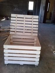 Wooden Storage Pallets Boxes, For Industrial