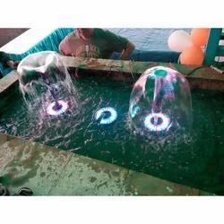 FRP RGB Indoor Water Fountain