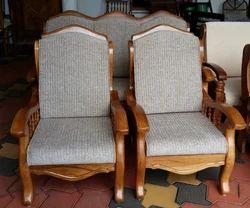 Sofa Set Teak Wood At Rs 32000 Set Wooden Sofa Set Id 13011685012
