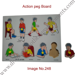 Action Peg Board