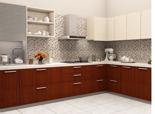 Mdf Panel Modular Kitchen Cabinets Designing Services Kitchen Cabinet Service Contemporary Modular Kitchen Modern Kitchens Modular Kitchen Furniture Royal Home Decor Modular Kitchen Surat Id 12791242273