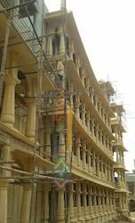 Yellow Sandstone Cladding Service