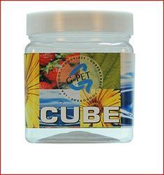Cube Jar Plastic Cap 350ml