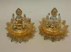 Gold Platted Ganesha Laxmi Corporate Gift Set