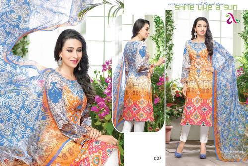 7f0a013e64 Pakistani Style Pure Lawn Suit at Rs 535 /piece | Lawn suit ...