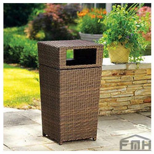 outdoor wicker laundry basket star