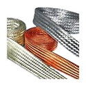 Tinned Plated Braided Copper Strips