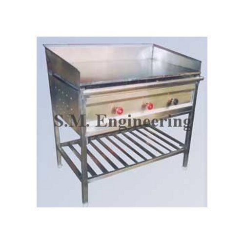 S. M. Engineering Works Stainless Steel Chapati Plate