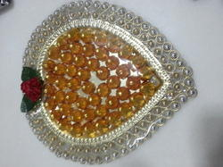 Decorative Chocolate Modak Thali