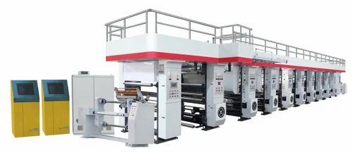 Fully Automatic Rotogravure Printing Machine, Rotogravure Printing Unit,  Paper Rotogravure Press, रोटोग्रेवर प्रिंटिंग प्रेस - Tirth Corporation,  Rajkot   ID: 10919970597