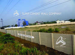 RCC Concrete Folding Ready Made Wall Boundary