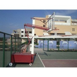 Standard Basketball Pole