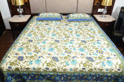 Designer Double Bedsheet With Pillow Cover