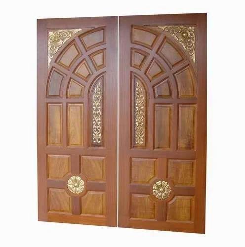Teakwood Double Door