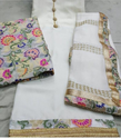 White Silk Suit Material