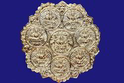 24Karat Gold Plated Ashtalakshmi Wall Hanging