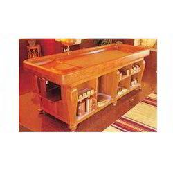 Open Shelf Dhroni Table